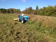 new land mowing